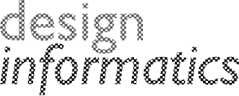 Design Informatics logo text in grey