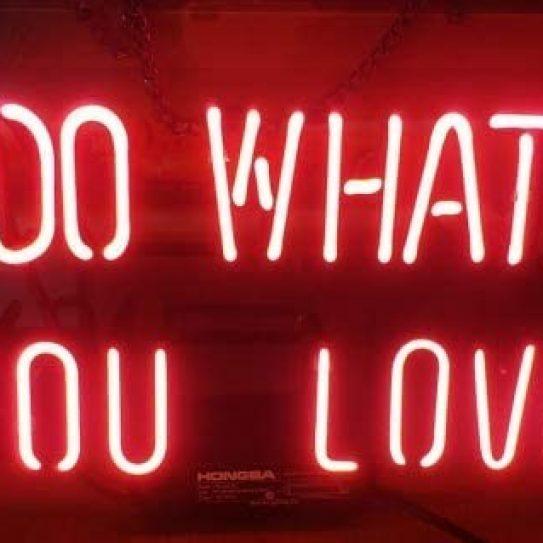 Rachel O'Dwyer, DO WHAT YOU LOVE