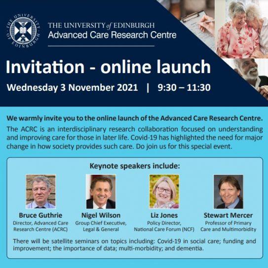 ACRC launch, November 2021